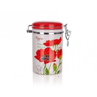 333112 Dóza s viečkom 750 ml Red Poppy, BANQUET