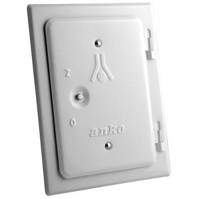 2210558 Dvierka kominové Anko 120x180 mm, biele