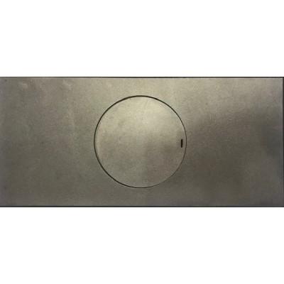 7094016 Liatinové platne na šporáky s otvorom 630 x 290 mm CARDINALIS