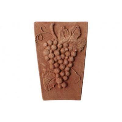 Terracotta centrálný klenbový kus Hrozno