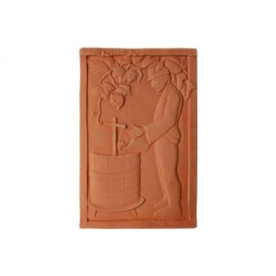Terracotta reliéf Lisovanie 38 X 26 cm
