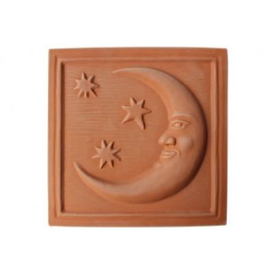 Terracotta reliéf Mesiac 29 X 29 cm
