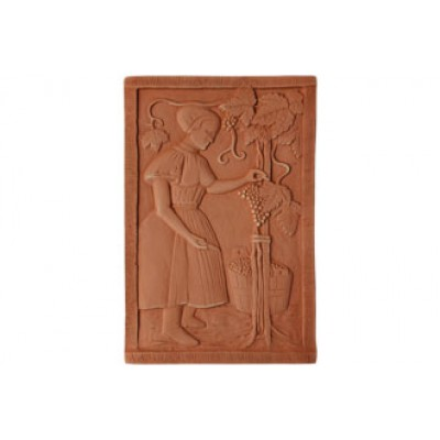 Terracotta reliéf Oberáčka 38 X 26 cm