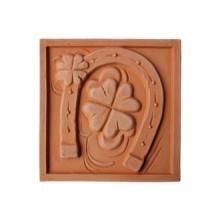 Terracotta reliéf Podkova 20 X 20 cm