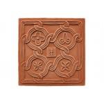 Terracotta reliéf Romanca 20 X 20 cm