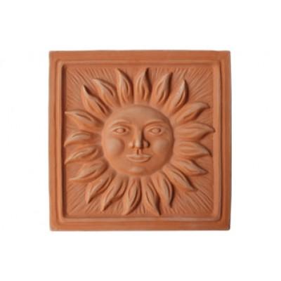 Terracotta reliéf SLNKO 29 X 29 cm