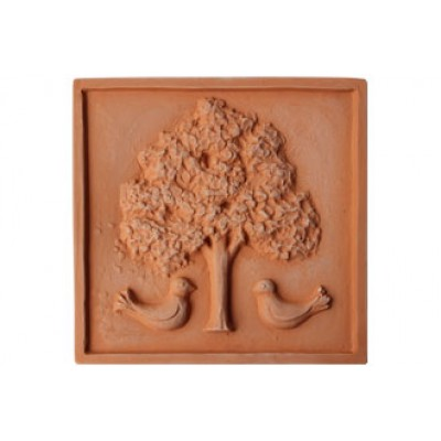 Terracotta reliéf Strom 28 X 28 cm