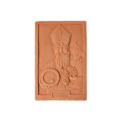 Terracotta reliéf Sv. Urban 38 X 26 cm