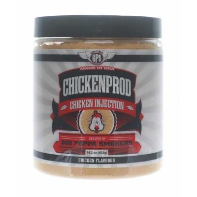"""52032 BIG POPPAS Injekčná marináda na kuracie mäso """"Chicken Prod"""" 403 g"""