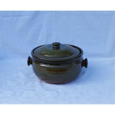 4150306 GERI Keramický kastról na pečenie 6 litrové, glazúrovaný