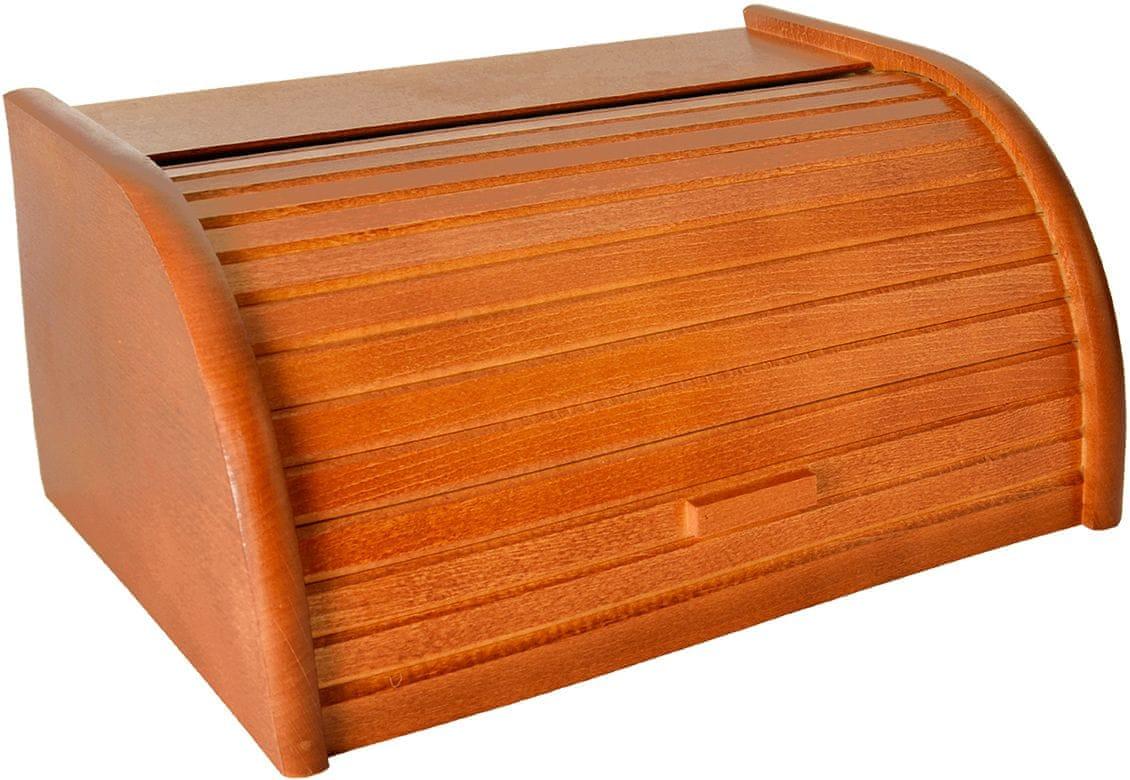 988842 Drevený chlebník 42 cm PERFECT HOME